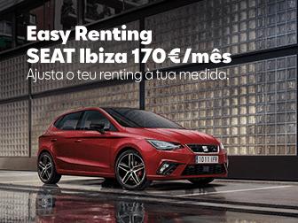 SEAT Ibiza Easy Renting na Caetano Active