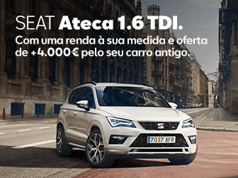 SEAT ATECA 1.6 TDI Easy Renting na Caetano Active