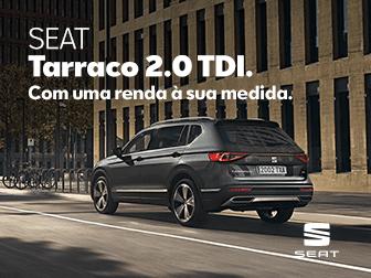 Novo SEAT Tarraco na Caetano Active