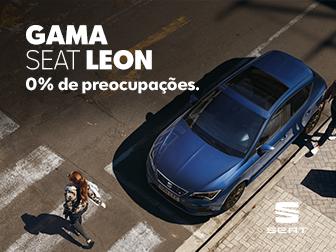 Gama SEAT LEON 0% Juros* até 48 MESES na Caetano Active