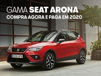 SEAT Arona 1.0 TSI, Compra Agora e Paga em 2020